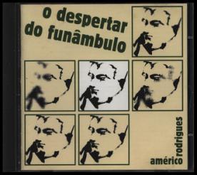 Figura 2a: O Despertar do Funâmbulo (capa), de Américo Rodrigues