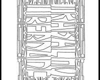 Trabalho/liberdade: Poemas visuais (8/17)