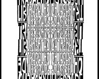 Trabalho/liberdade: Poemas visuais (10/17)