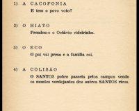 Gramática histórica - Sintaxe (5/7)