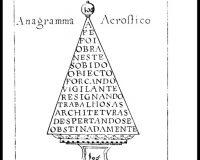 Acrósticos, Anagramas e Cronogramas (1/32)