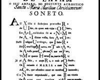 Acrósticos, Anagramas e Cronogramas (5/32)