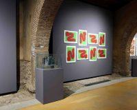 Ana Hatherly - Dibujar es hablar con el silencio. Obras del Archivo Fernando Aguiar. Museo Vostell Malpartida, Septiembre 2021 - Febrero 2022 (9/9)