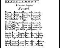Antologia de textos visuais dos séculos XVII e XVIII (6/9)