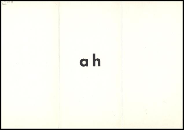 ah anagramas aberto verso