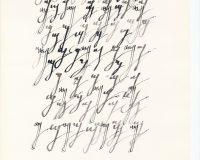 Escripinturas e Poesia Visual - 1970 (8/34)