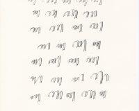 Escripinturas e Poesia Visual - 1970 (15/34)