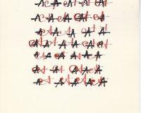 Escripinturas e Poesia Visual - 1970 (16/34)