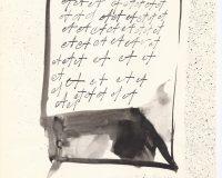 Escripinturas e Poesia Visual - 1970 (34/34)