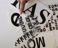 Fernando Aguiar, Calligraphies, 2007 (3/5)