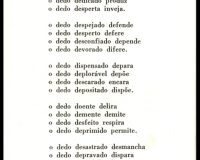 O dedo: poema em 22 andamentos (16/25)