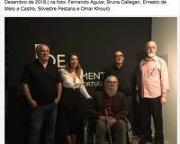 Fernando Aguiar, Bruna Callegari, Ernesto de Melo e Castro, Silvestre Pestana e Omar Khouri (1/1)