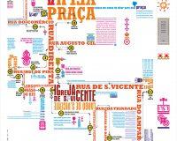 Mapa tipografado da cidade da Guarda (1/1)