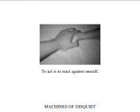 Machines of Disquiet IM01 (1/3)