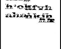 Algorritmos: infopoemas (1/10)
