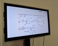 Instalação 'escrita' (2013) (2/6)