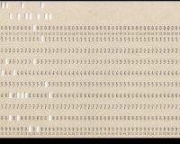 Cartões e fitas perfuradas do LACA (4/6)
