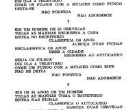 Séries coligidas de poemas por computador (16/16)
