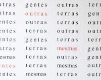 Obras de Poesia Experimental Portuguesa em exposição em Brasília (13/19)