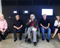 Inauguração de exposição da PO.EX em Brasília (2/3)