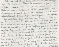 Carta de Salette Tavares para Ana Hatherly (1/1)