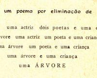 figuras de uma poema por eliminação de partes (1/1)